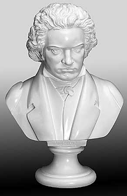 Bust Of Beethoven Beethoven Bust Plaster Bust Statue