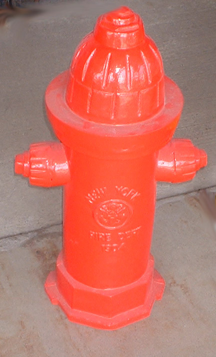 Fire Hydrant Nyc Nyfd Replica Reproduction Lifesize